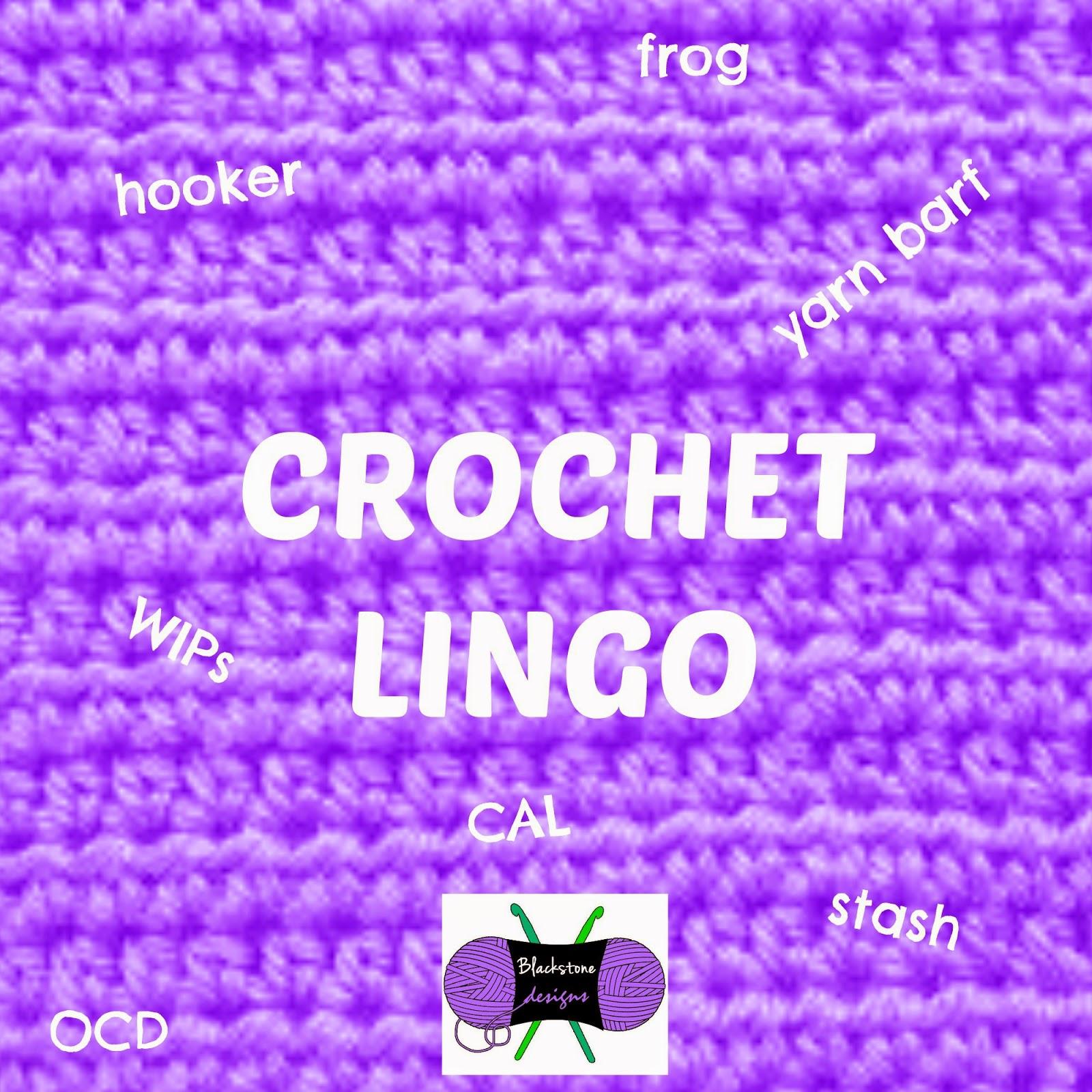 Fun Crochet Lingo