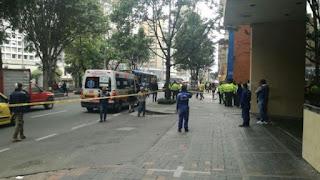 Tiroteo en el Centro Internacional de Bogotá