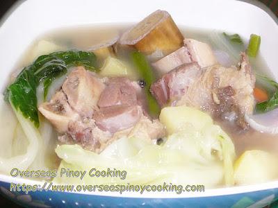 Nilagang Ham Bone