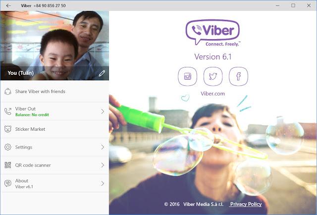 Ứng dụng Viber cập nhật với trả lời tin nhắn nhanh, hỗ trợ Cortana và nhiều hơn nữa