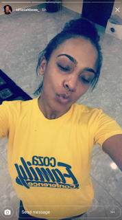 See how beautiful TBOSS is, after she share no makeup pictures