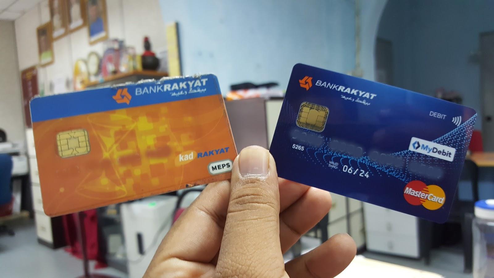 Aidy Sreviews Cepat Tukar Ke Kad Atm Terbaru Bank Rakyat