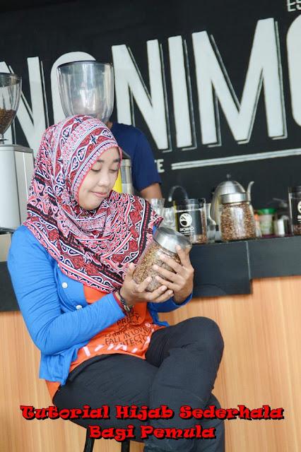 turorial hijab sederhana bagi pemula