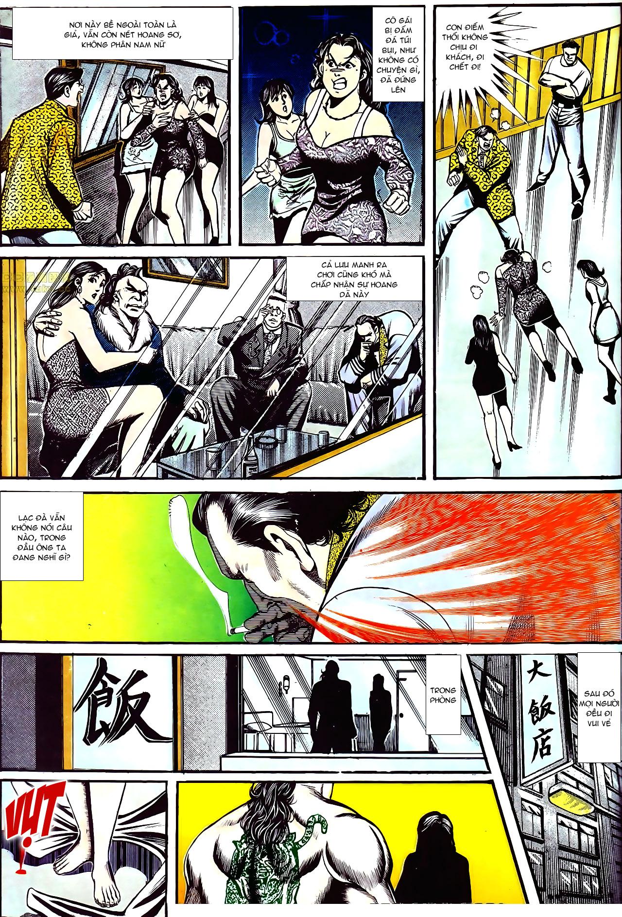 Người Trong Giang Hồ chapter 157: thiên đường địa ngục trang 23
