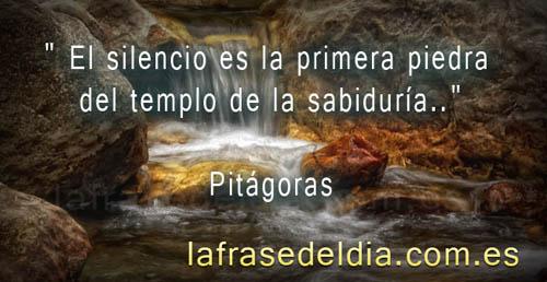 Tarjetas con citas de Pitágoras