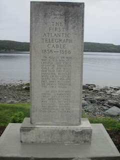 The First Atlantic Telegraph Cable.