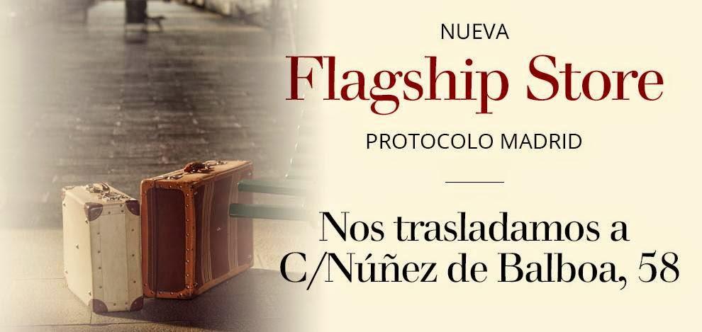 Protocolo novios Nueva Flagship store Madrid blog bodas mi boda gratis