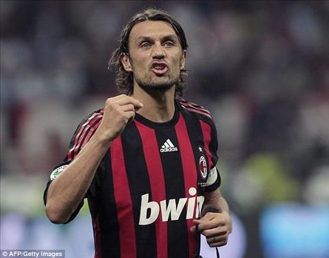 Paolo Maldini đã cùng AC Milan 4 lần đoạt siêu Cup châu Âu.