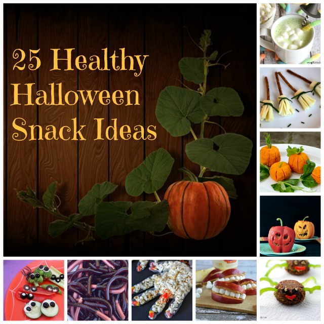 25 Healthy Halloween Snack Ideas