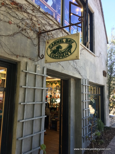 exterior of Carmel Bay Company shop in Carmel, California