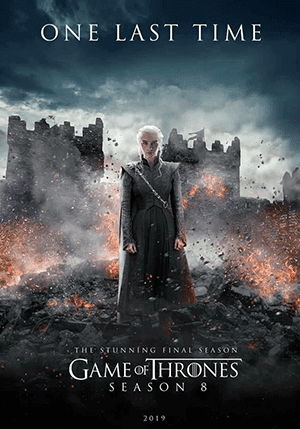 Game of Thrones Season 8 [2019] [DVDR1] [Latino]