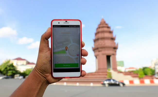Tinuku Grab announces service launch in Cambodia