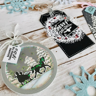 Beautiful Tags by October Guest Designer Bobbi Lemanski | Stamps and dies by Newton's Nook Designs #newtonsnook #handmade