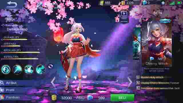 Cara dan Tips Mengalahkan Hero Kagura Mobile Legend
