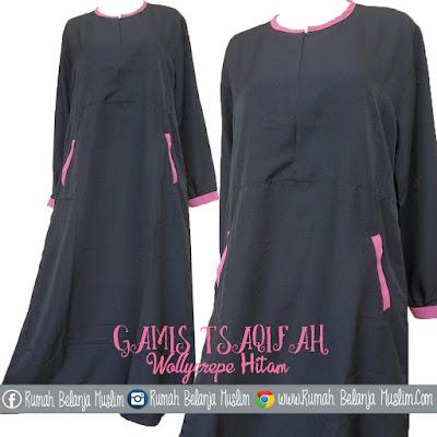 Model Gamis Muslimah Tsaqifah