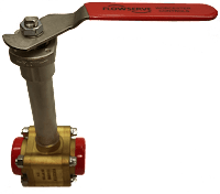 Brass Cryogenic Ball Valve