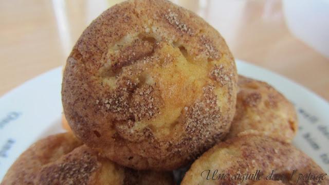 Mini-muffins poire-cannelle