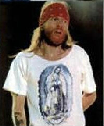 Axl Rose Saint-Guadelupe t-shirt. PYGear.com