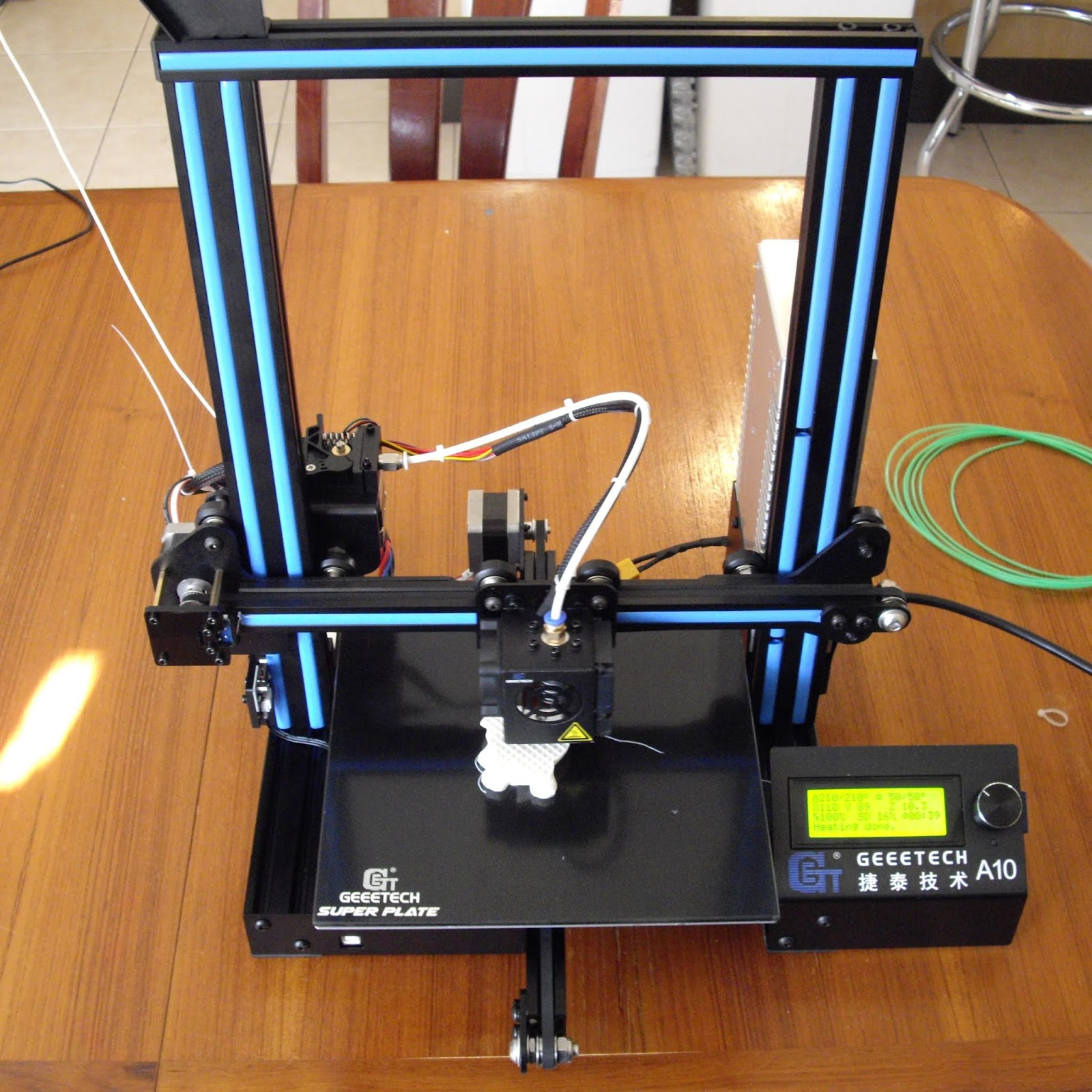 PEZZER'S 3D PRINTER BLOG: GeeeTech A10 Review