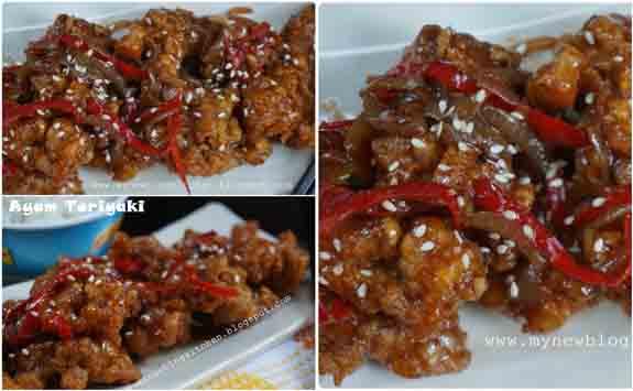 Ayam Teriyaki by Bunda Fatih & Akbar