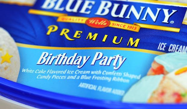 Blue Bunny Ice Cream Birthday Cake