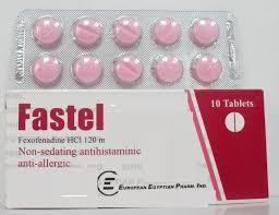 سعر ودواعى إستعمال فاستيل Fastel أقراص لعلاج الحساسية