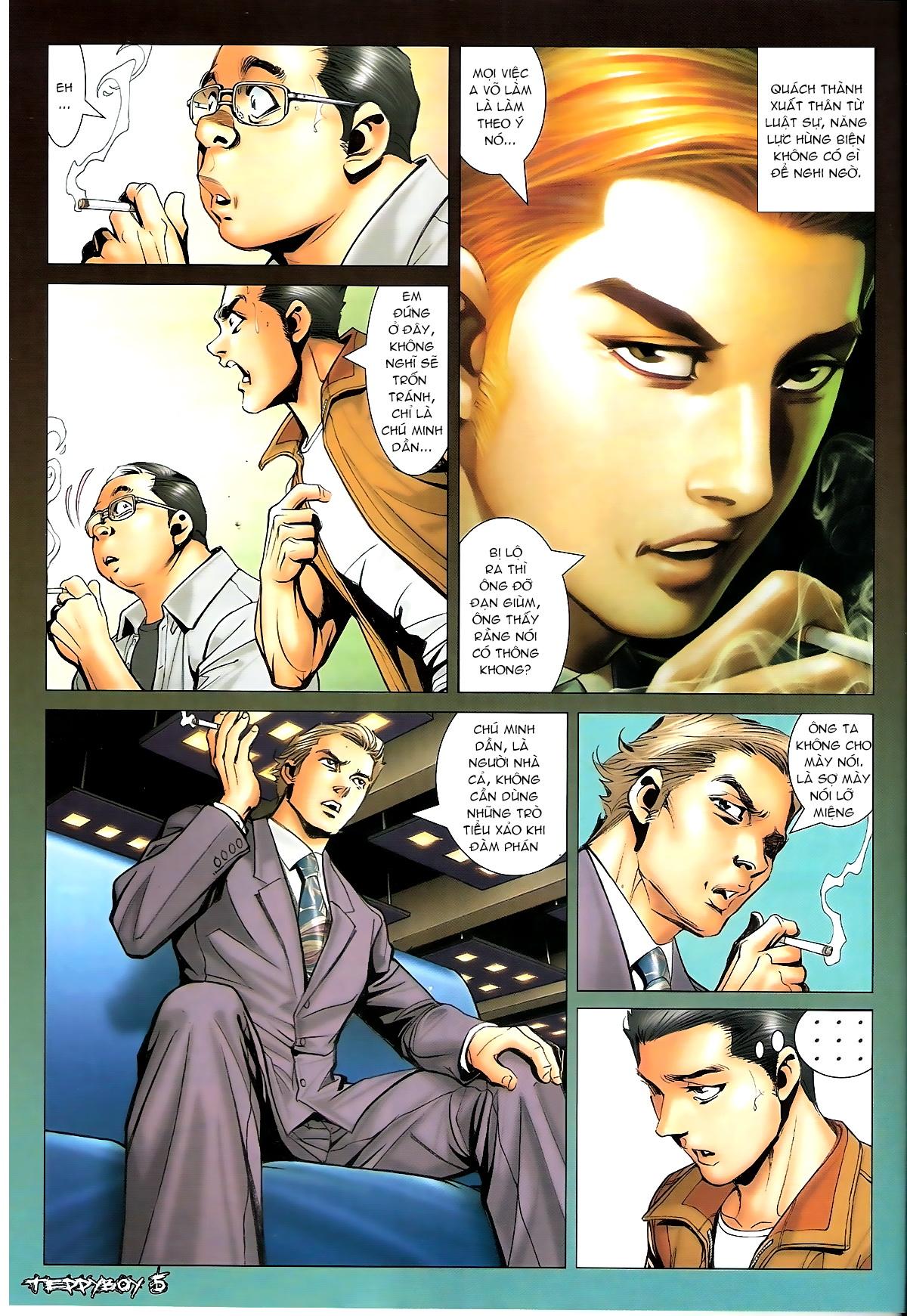Người Trong Giang Hồ - Chapter 1322: Nói hung hăng - Pic 3