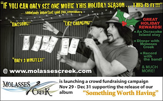 http://www.indiegogo.com/projects/molasses-creek-is-something-worth-having