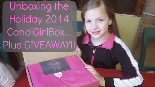 Unboxing & GIVEAWAY of the Holiday 2014 CandiGirlBox!