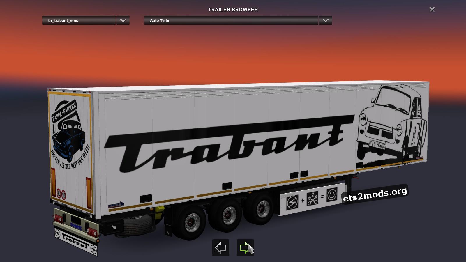 Standalone Trabant Trailer