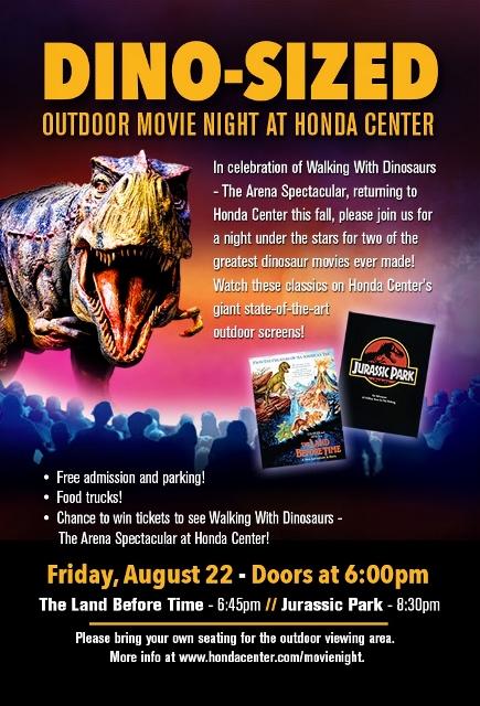 Anaheim, Jurassic Park, Land Before Time