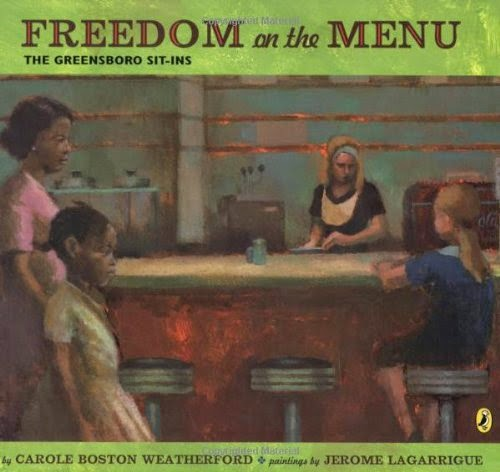 http://www.amazon.com/Freedom-Menu-The-Greensboro-Sit-Ins/dp/0142408948