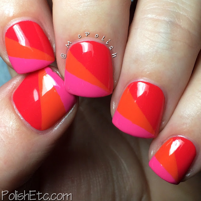 SinfulColors tape mani by McPolish
