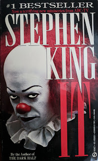 Book cover to It by Stephen King