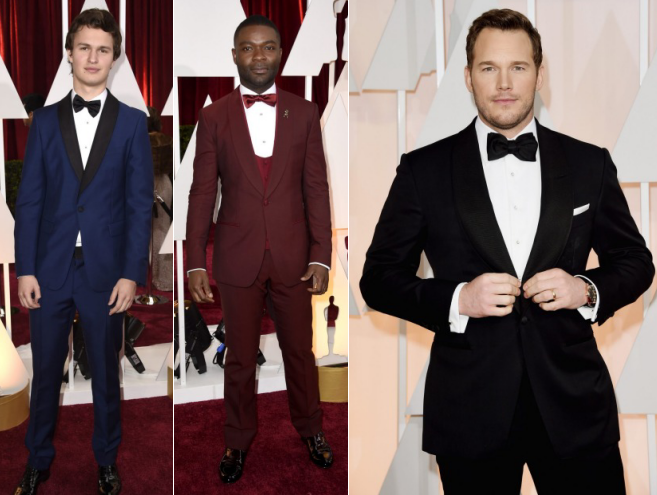 oscars academy awards red carpet men best dressed