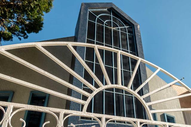 Um templo judaico-adventista.