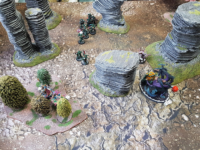 Warhammer 40k battle report - Maelstrom of War - Contact Lost - 2000 points - Dark Angels vs Thousand Sons.
