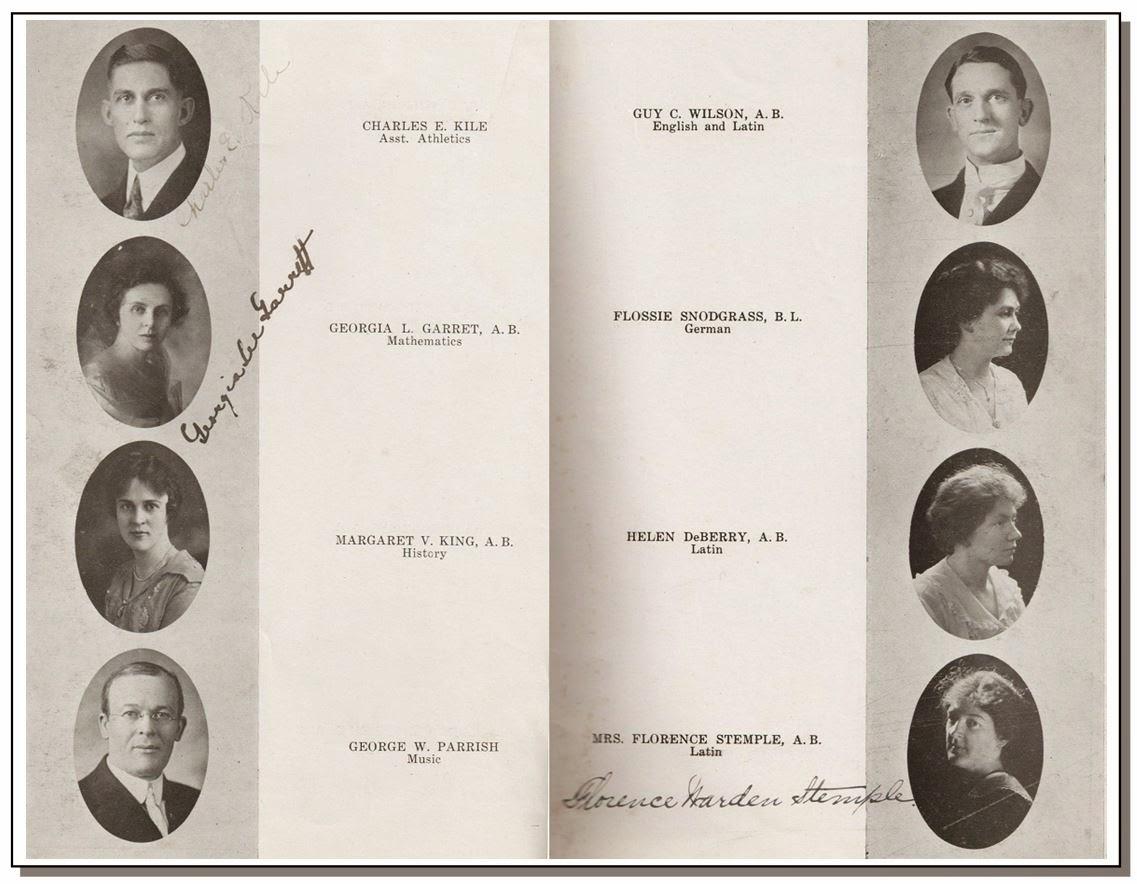 1918 Teachers The History of Washington