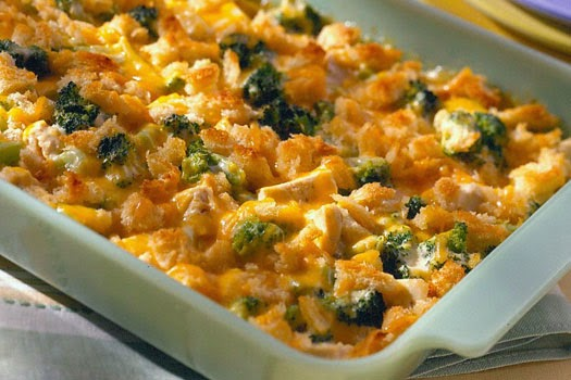 Easy Cheesy Chicken Casserole Recipe