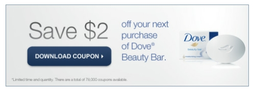 Canadian Daily Deals Dove Coupons Save 2 Off Beauty Bar Body Wash Printable Coupon