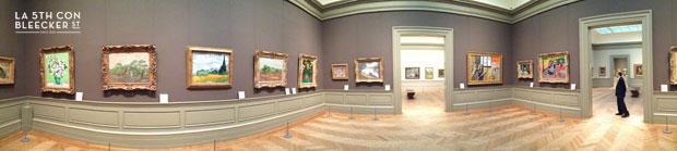 Museo Metropolitano de Nueva York sala impresionista