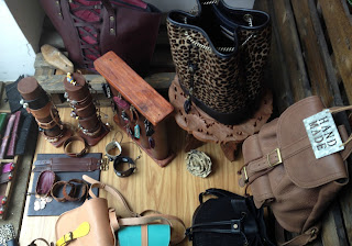 Handmade leather goods-Bags