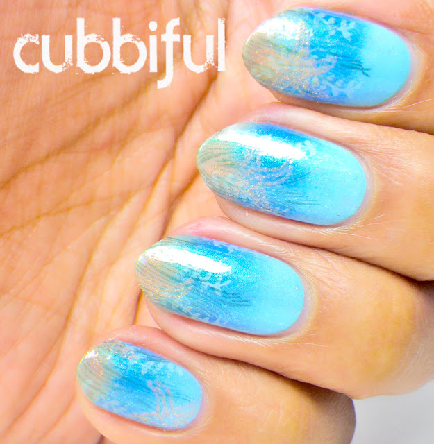 Under the Sea Stamping Nails