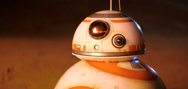 Trailer International Nou Star Wars The Force Awakens: BB8
