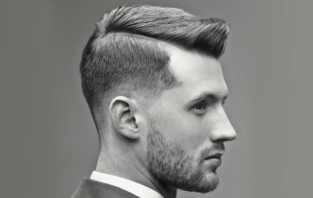 Model Potongan Gaya Rambut Old School Gantung Untuk Pria Pendek - Gaya rambut old school pendek