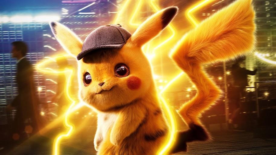 Detective Pikachu, 8K, #58