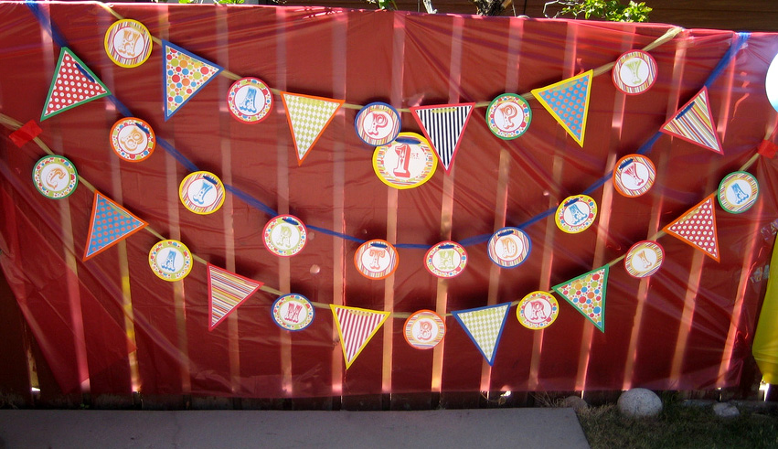 Circus-Themed Birthday Party — Bless this Mess