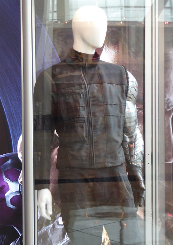 Captain America Civil War Winter Soldier costume