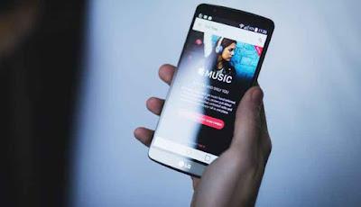 LG X Screen Smartphone
