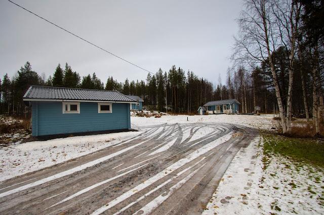 Strada nei dintorni di Rovaniemi